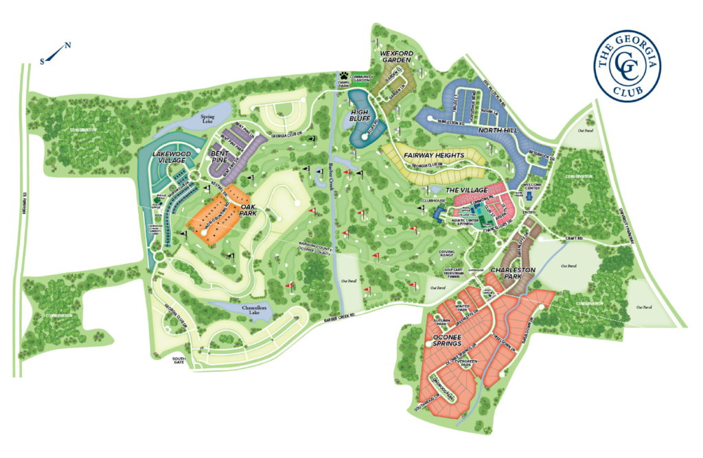 A map of new Construction Homes in Statham, GA