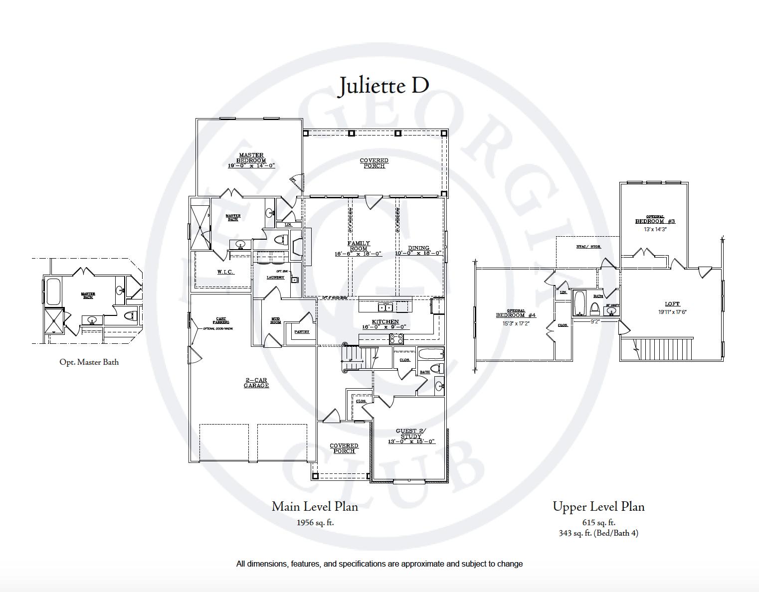 Juliette D floor plan