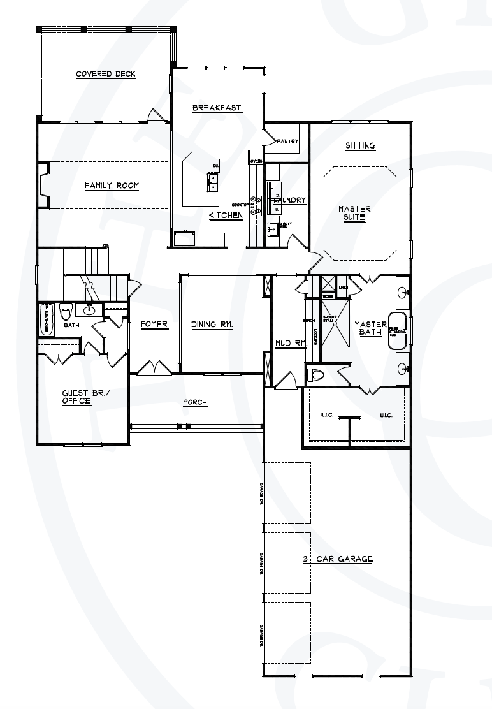 Preston main floor